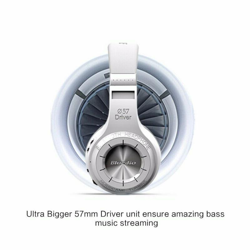 Bluedio Turbine Hurricane H Bluetooth 4.1 Wireless Stereo Headphones Headset New Applicable To Android IOS For Xiaomi IPhone enlarge
