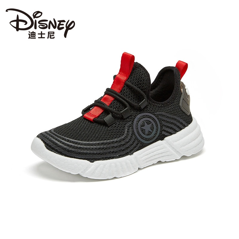Marvel Avengers Captain America Boys Sneakers Flying Knitted Breathable Casual Shoes Children's Shoes enlarge