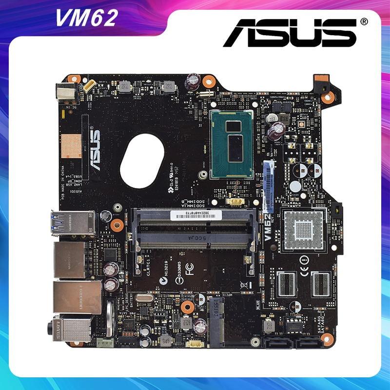 Promo VM62 For ASUS Desktop Mothebroard mini itx DDR3 RAM Memory 2957U CPU used mothebroard computer accessories