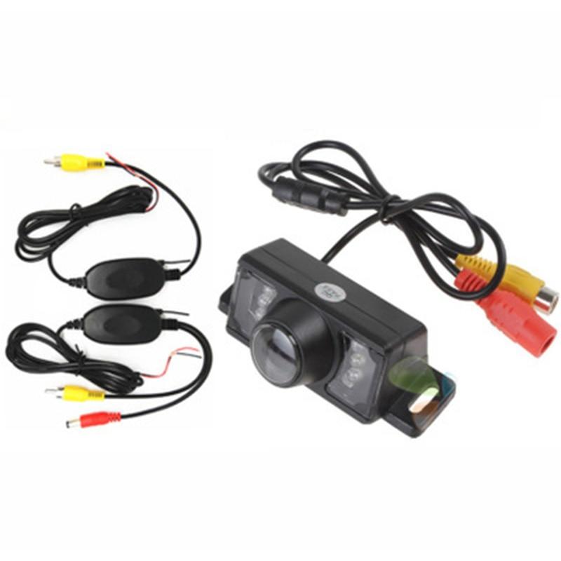 Универсальная беспроводная автомобильная камера заднего вида IR ночного видения Водонепроницаемая HD CCD Автомобильная обратная резервная п...