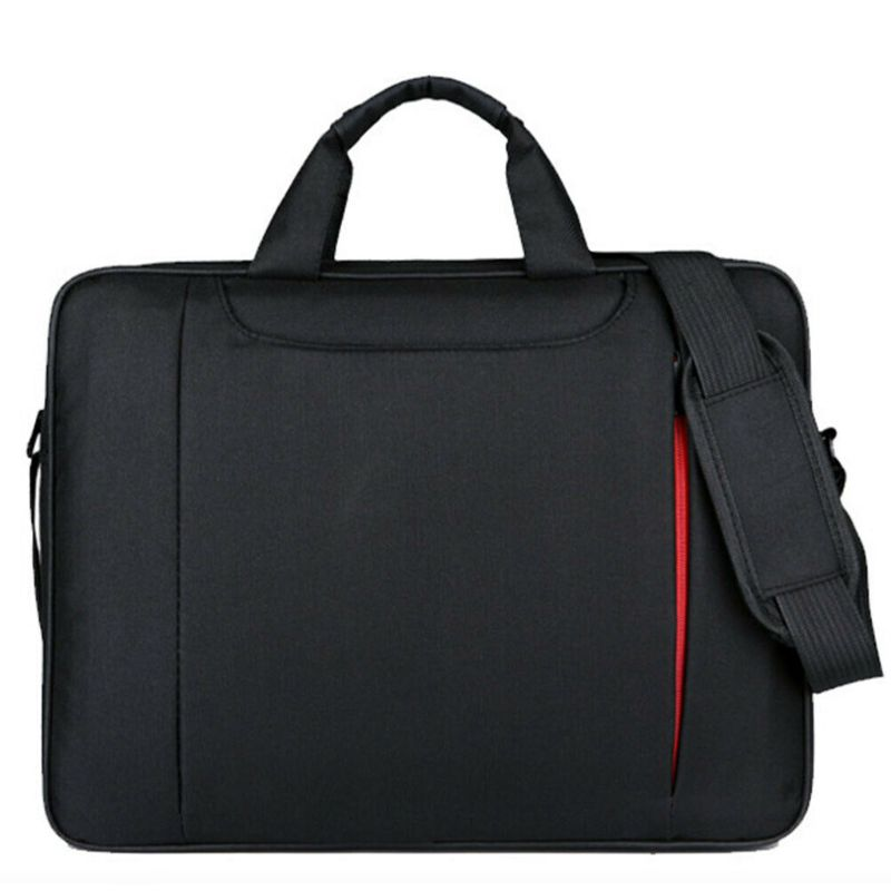 15.6 Inch Ultra-thin Notebook Storage Shoulder Bag Business Travel Carrying Case Handbag for Laptop PC Computer