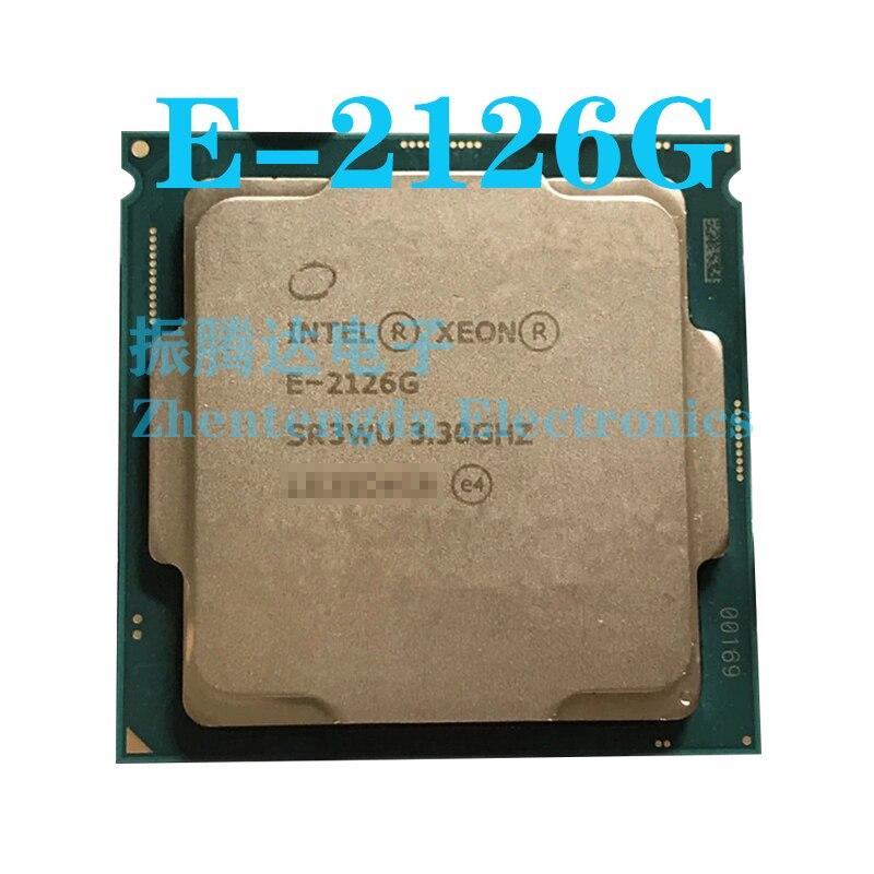 Intel Xeon E-2126G CPU 3.3GHz 12MB 6 Core 6 Thread LGA 1151 E-2126G CPU Processor