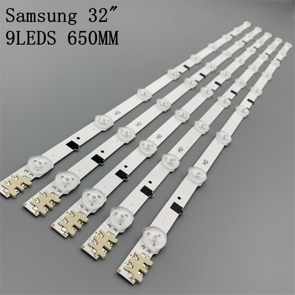 Tira de retroiluminación de pantalla LED para Samsung UE32F5020AK 32 pulgadas de TV barras LED de reemplazo D2GE-320SC0-R3 25299A 25300A UE32F5020AK LED