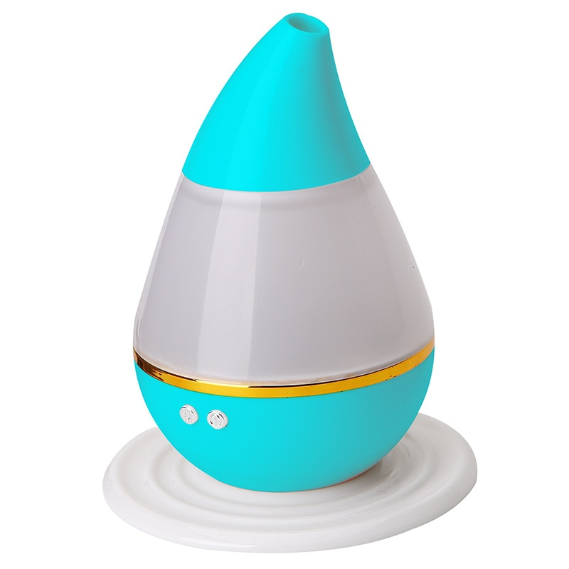 Water Drop Ultrasonic Essential Oil Aroma Diffuser Air Humidifier Portable USB Mist Maker Fogger with Colorful Light 250ml 250ml 24 40 soxhlet extractor used for distillation unit oil water receiver separator essential oil distillation kit part