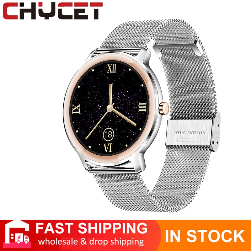 Review CHYCET 2021 Multi-sport Modes  Music Control Smart Watch Sport Smartwatch Women Heart Rate Monitor IP67 Watches For IOS Android