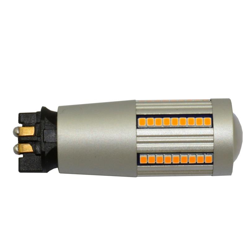 Canbus-لمبة انعطاف LED ، بدون فلاش Hyper ، PW24W ، PWY24W ، DRL ، أصفر ، كهرماني ، أبيض ، لأودي ، BMW ، Volkswagen