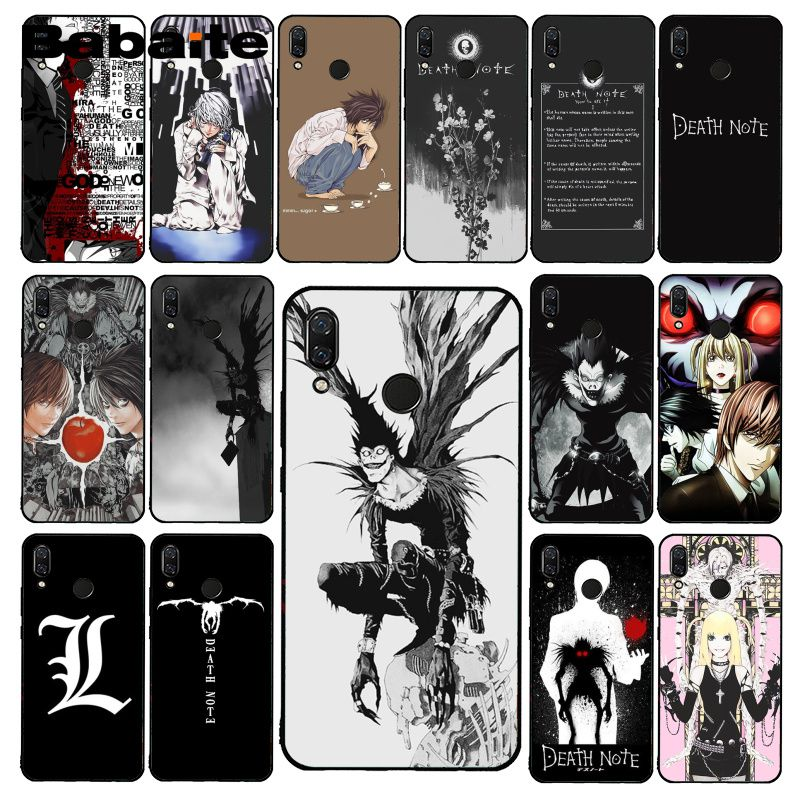 Babaite Anime Manga Death Note Ryuk Phone Case for Xiaomi Redmi8 4X 6A 9 Go Redmi 5 5Plus Note8T Not