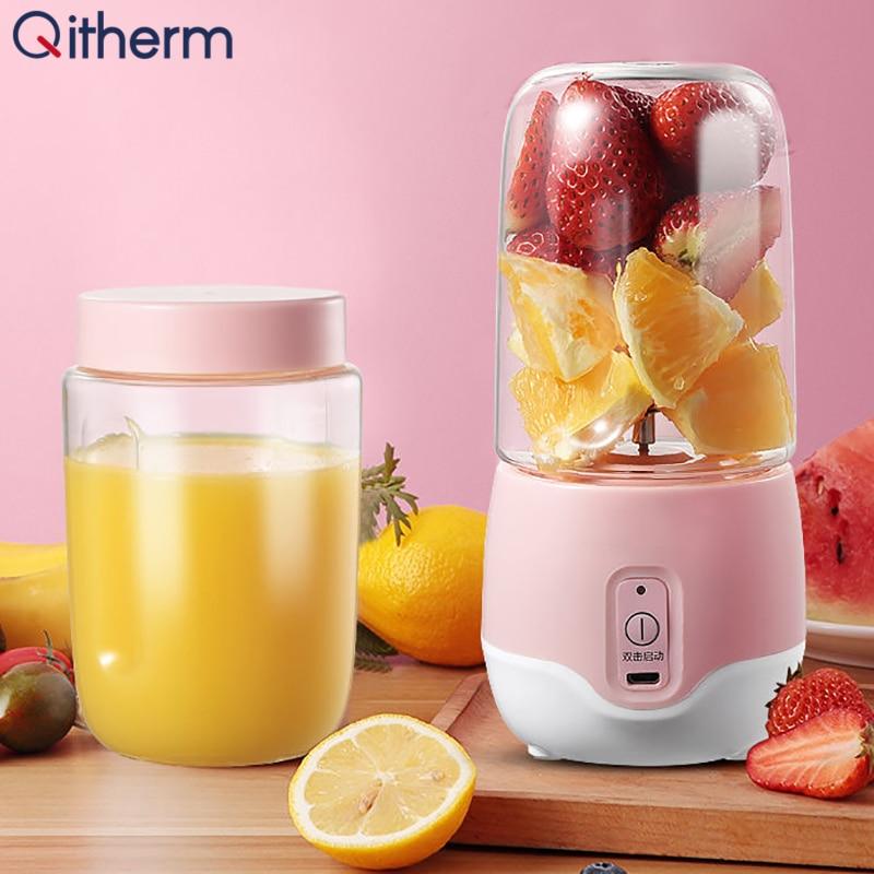 300ml espremedor eletrico portatil mini usb misturador eletrico de frutas smoothie