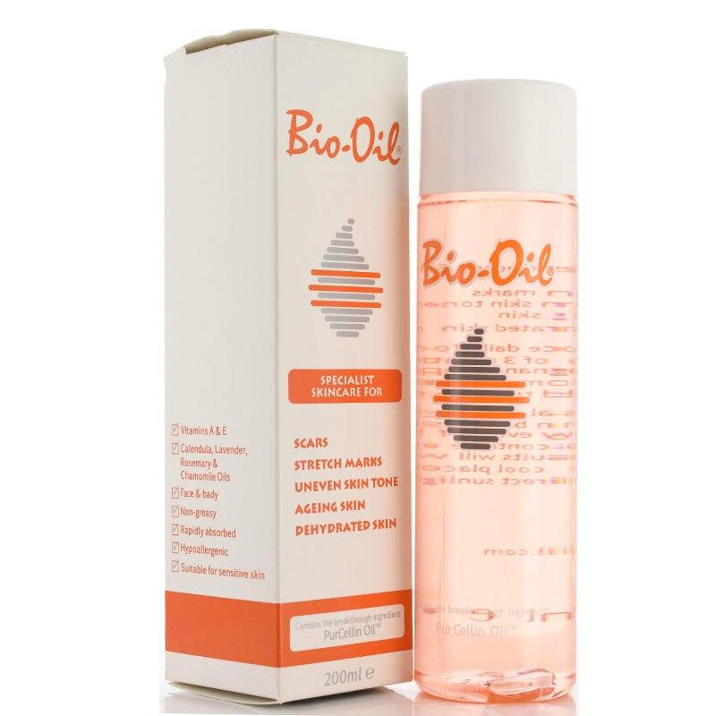 200ml 100% bio óleo cuidados com a pele ance estrias removedor creme remover estrias do corpo pele desigual tom purcelina óleo 200ml