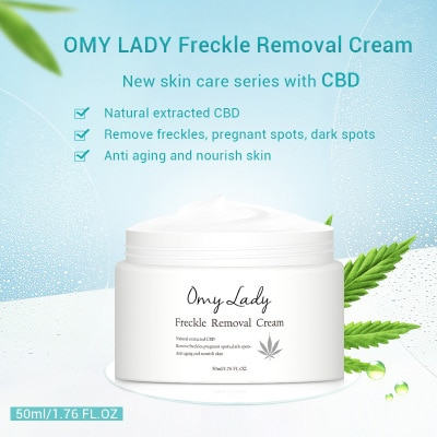 Фото - OMY LADY 50ml Freckle Removal Cream Whitening Brightening Skin Care Hydrating Moisturizing Face Cream Removal Acne dermoskin face protection spf 50 sunscreen cream 50ml summer skin care