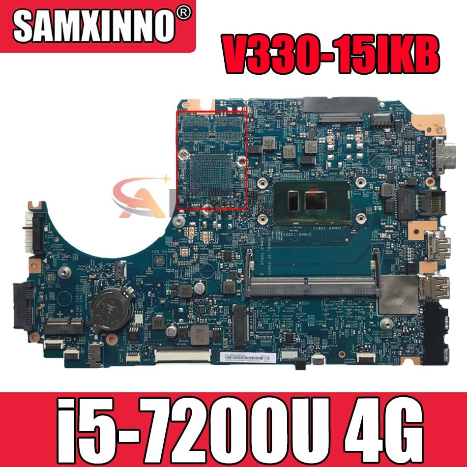 اللوحة الأم لينوفو V330-15IKB اللوحة الأم LV315KB 17807-3 448.0DC04.0031 اللوحة الأم ث/وحدة المعالجة المركزية i5 7200U 4G RAM اللوحة الرئيسية