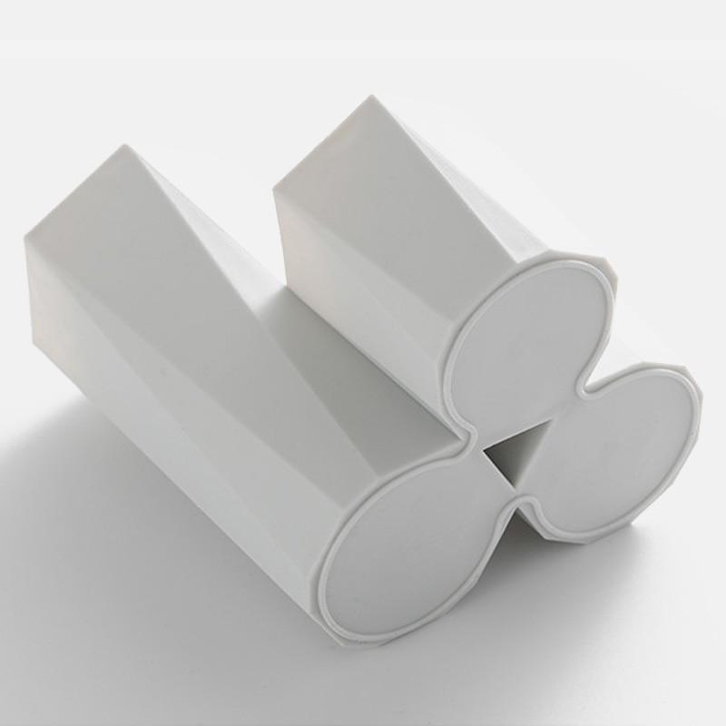 Cutie de depozitare pensule pentru machiaj cosmetic cu 3 rețele, - Organizarea și depozitarea în casă - Fotografie 5