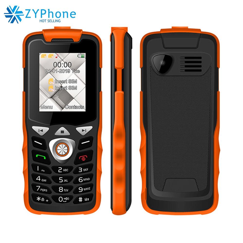 Unlocked 2G GSM Push Button Key Cellphone Feature Mobile Phone Led Flashlight Dual SIM Card Senior UNIWA W2026 Hebrew Keyboard