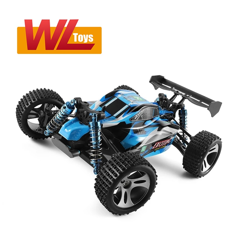 Wltoys 184001 4WD rc car brushless motor Radio Controlled truck High Speed 30km/h 1/18 Climbing Drift off road Buggy toy for boy enlarge