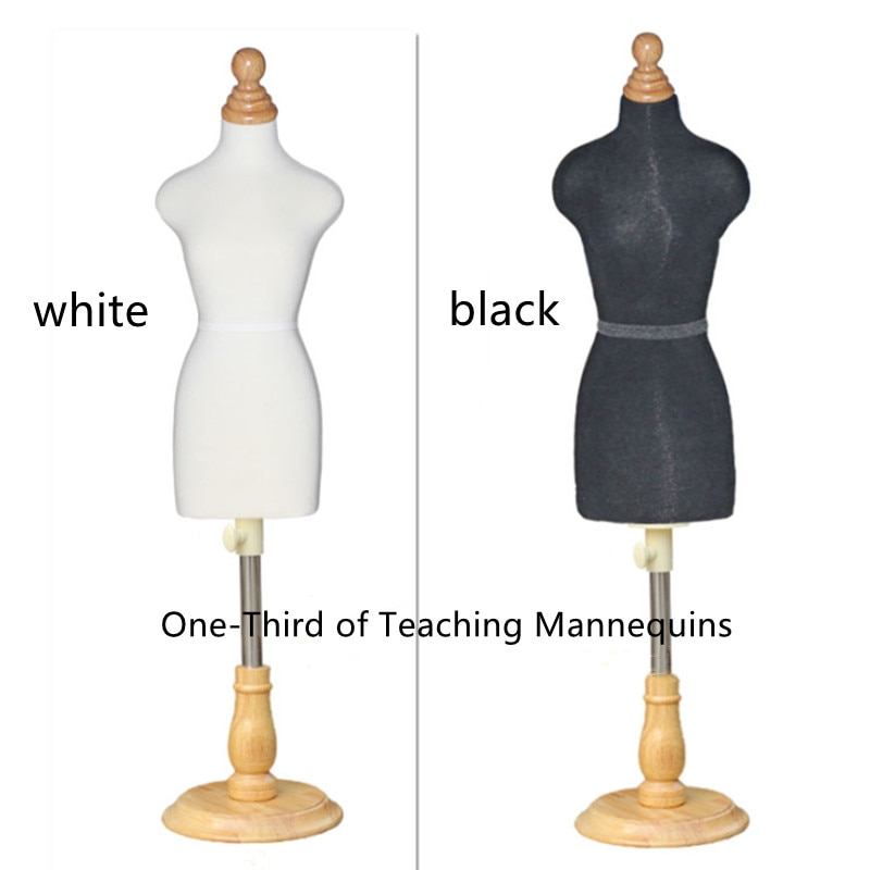 Teaching Model 1/3 Female Dress Foam Mannequin Student Costume Design Props Mannequin Stand Three-dimensional Cutting Sewing