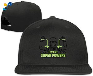 Yellowpods Forget Lab Safety I Want Superpowers Men's Relaxed Medium Profile Adjustable Baseball Cap