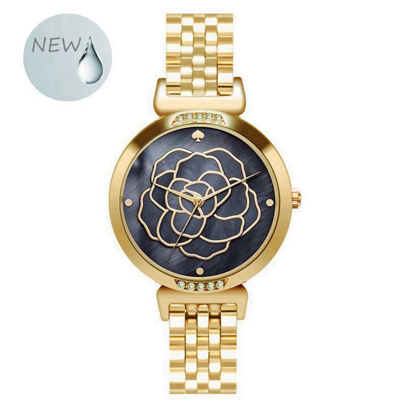 Reloj de pulsera sencillo informal de acero inoxidable para mujer, reloj de vestir para mujer, reloj de pulsera con diamantes para mujer