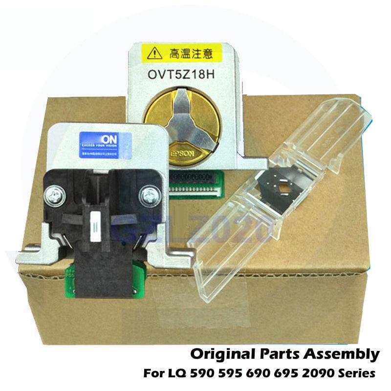 Оригинальные запасные части для печатающая головка для EPSON LQ590 LQ690 LQ2090 LQ 590 695 2090 LQ-590 LQ-2090 LQ-690 Printerhead F081000