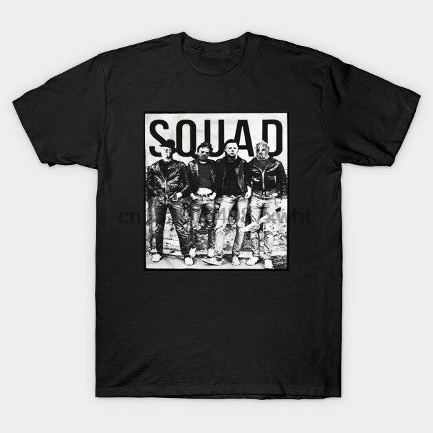 Hombres camiseta de halloween horror película asesinos en serie camiseta mujer t camisa