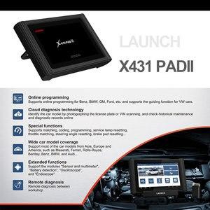Image 2 - Старт X431 PAD III V2.0 X 431 диагностический сканер Авто OBD OBDII диагностический инструмент 1000 + программное обеспечение для программирования ЭБУ автомобиля OBD2 сканер