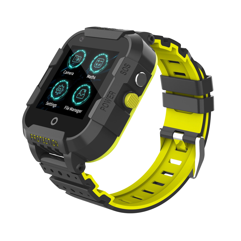 4G, GPS, LBS, SOS одной кнопкой поиска и спасения, водонепроницаемый, WiFi Интернет, смарт-телефон детские спортивные часы