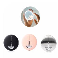 شاومي HD مرآة تجميل مع لمبة ليد LED ضوء اللون مرآة لمستحضرات التجميل صغيرة المحمولة التحكم باللمس الاستشعار مرآة للماكياج الجمال