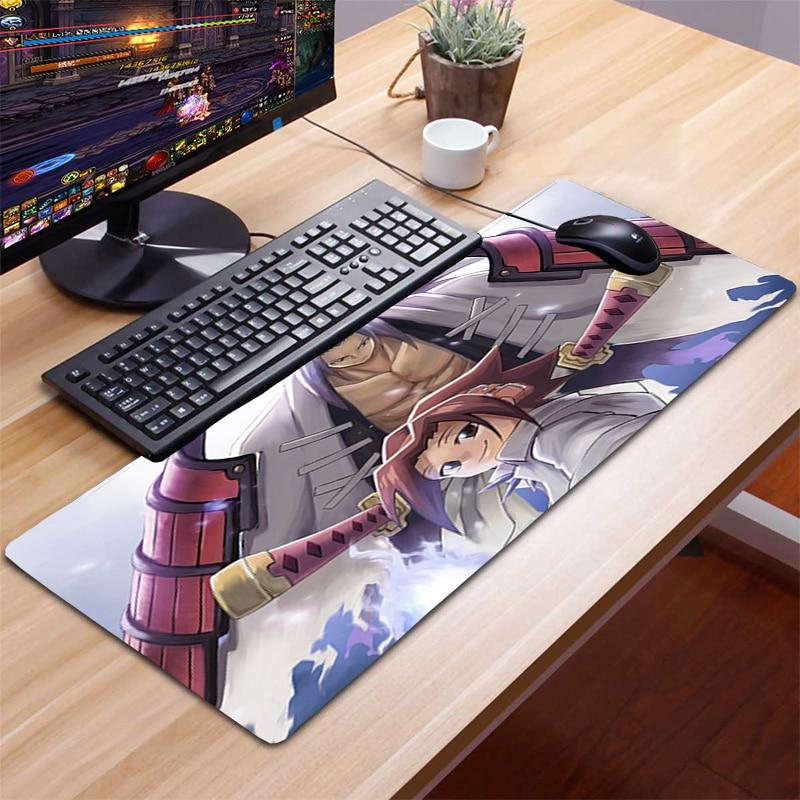 Коврик для мыши Shaman King XXL, игровой коврик для мыши, компьютерные аксессуары, коврик для клавиатуры, ноутбука, Настольный коврик для мыши, гейм...