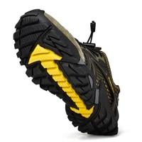 big size 39 48 men mountain hiking shoes mesh breathalbe outdoor trekking sneakers comfortable climbing shoes men