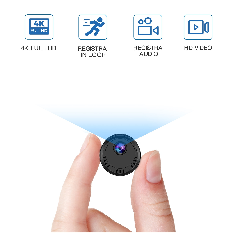 New 2MP 1080P 4K Full HD 140 Degree Wireless WIFI IP Camera IR Night Vision Motion Detection CCTV Camera Intercom Baby Monitor enlarge