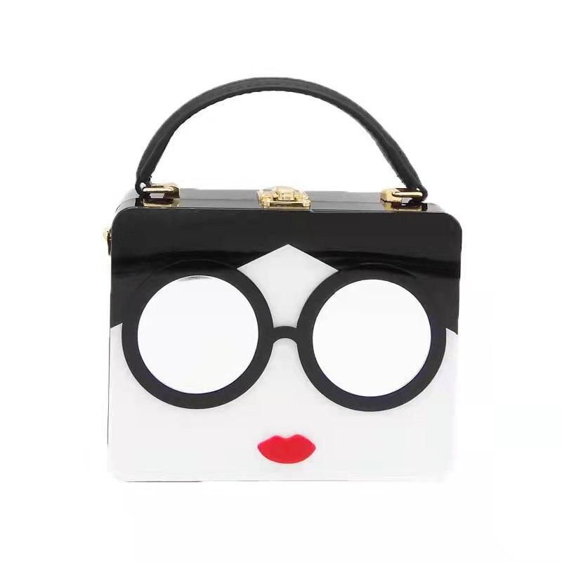 2021 الأوروبية والأمريكية السيدات شخصية خياطة صندوق مربع صغير قفل حقيبة يد 2099