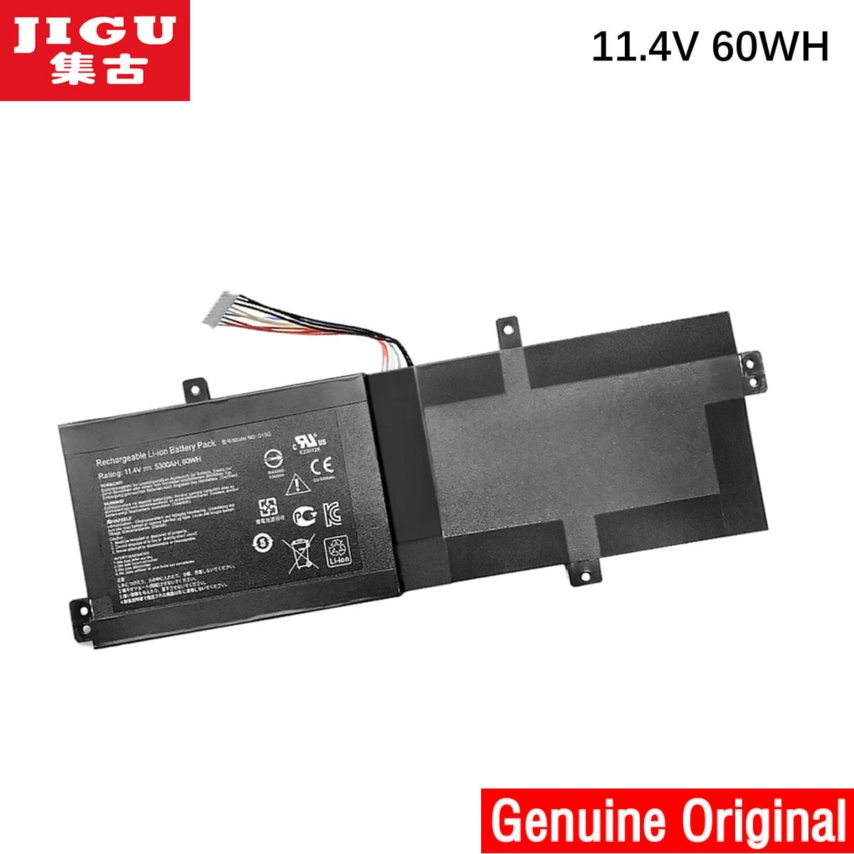 JIGU Original Laptop Battery G15G For THUNDEROBOT For targa 911 T5TB For SabrePro 15 For SABREPRO 15-W8 11.4V 60WH