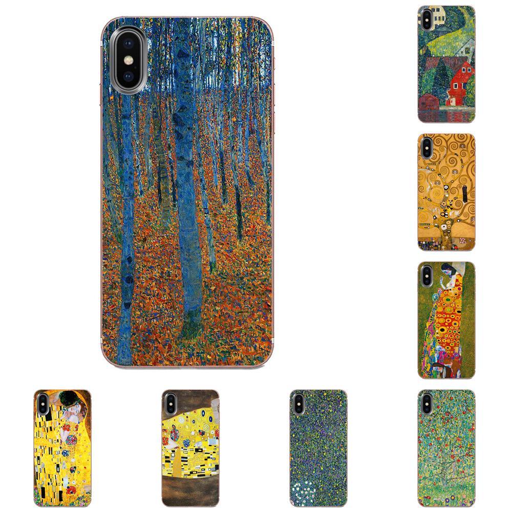 Gustav Klimt Der Kuss Kuss Baum Für Galaxy Alpha Hinweis 10 Pro A10 A20 A20E A30 A40 A50 A60 A70 a80 A90 M10 M20 M30 M40