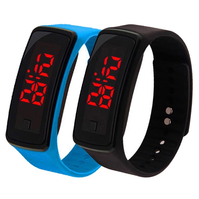 Sport Digital Watch Men Women LED Watch Silicone Electronic Watch Couple Watches Clock Digital Displ