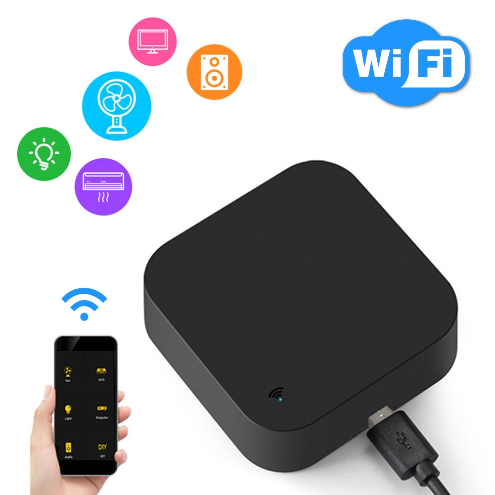 Smart Graffiti WIFI IR Remote Control  Universal IR Home Remote Control  Applicable Smart Home Phone App Air Conditioner top class universal car air suspension control system with pressure sensor support bluetooth remote and wire control app control