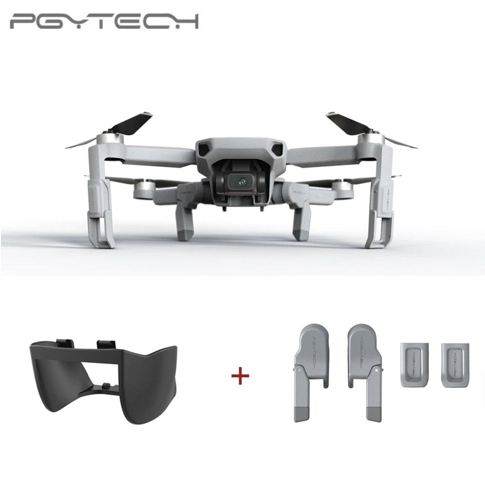 PGYTECH 2 uds para DJI Mavic Mini extensión de tren de aterrizaje + cubierta de lente cardán
