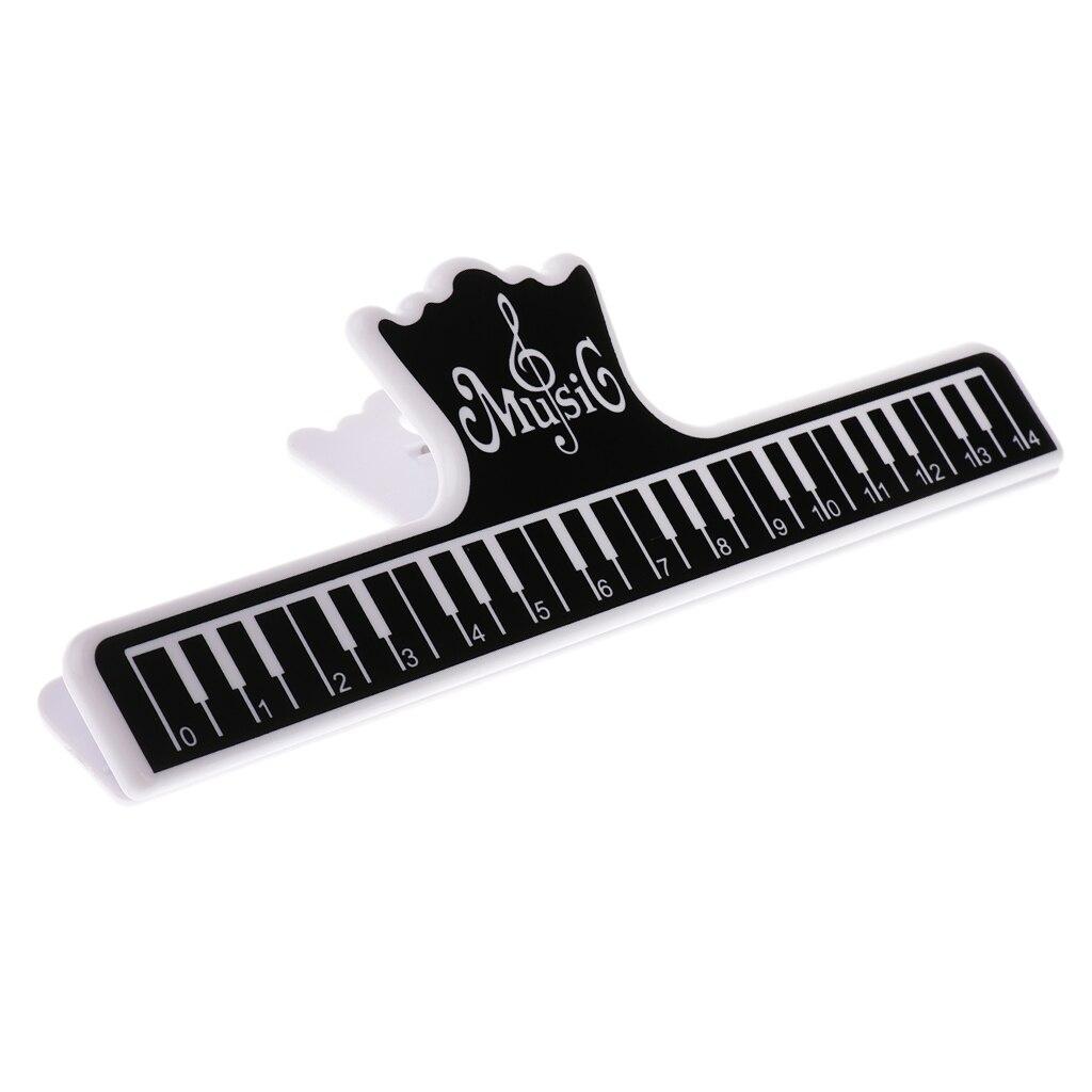 Verde Teclado de piano musical documento Clip para músicos maestros regalo