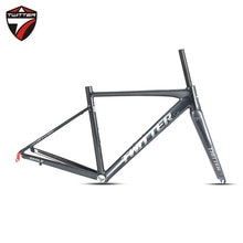 TWITTER lächeln Klemme-Bremse 9-130mm Carbon Gabel 48 52cm 700c Racing Fahrrad Rennrad Rahmen