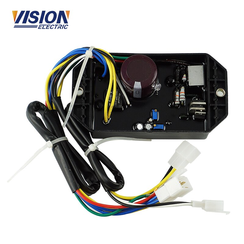 KI-DAVR-50S 50S3 AVR 5KW Single-phase Generator Automatic Voltage Regulator for Generator Spare Parts