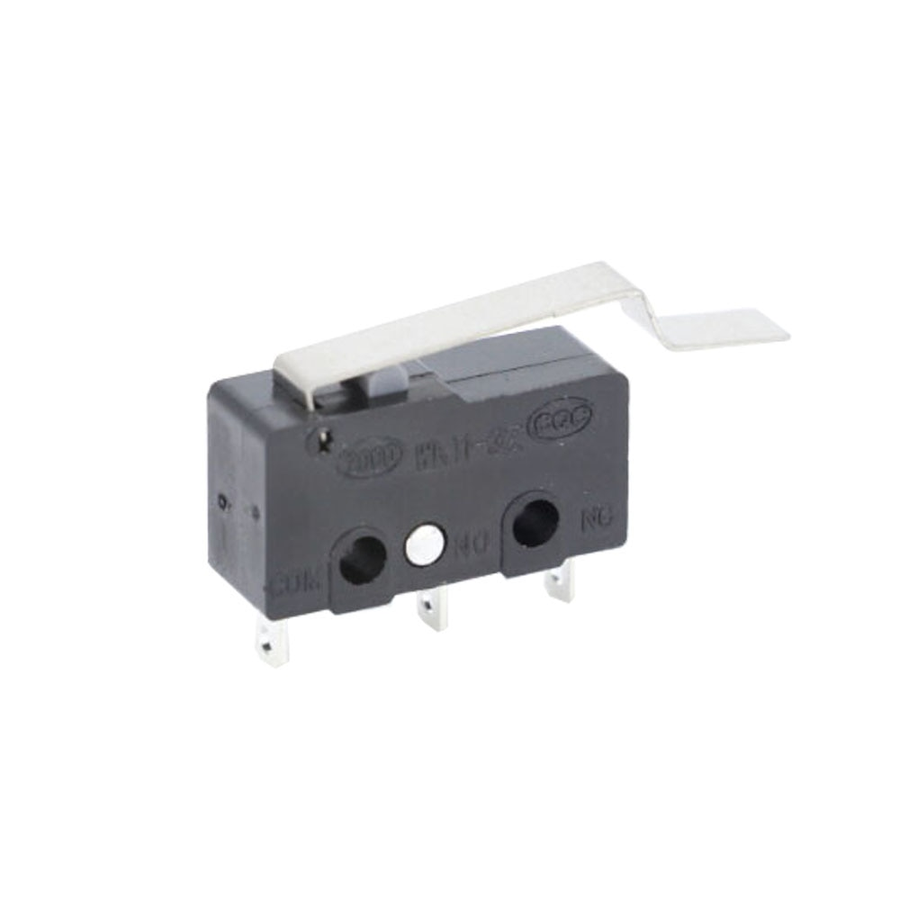 Купить с кэшбэком 10 PCS Micro Switch Limit Switch 2/3Pin NO/NC PCB Terminals 5A 250VAC KW11-3Z Roller Arc lever Snap Action Push Microswitches