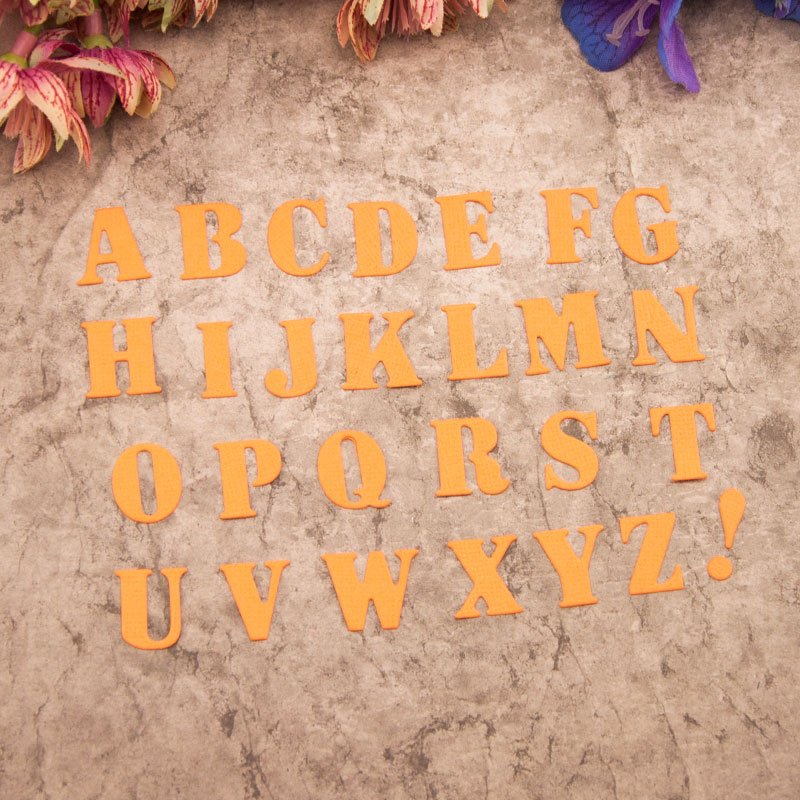 NCraft Metal troqueles de corte N148 Scrapbook decoración con papel artesanía troqueles scrapbooking alfabeto
