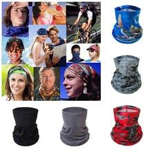 Magic Scarf Outdoor Headwear Bandana Sport Tube UV Face Neck Scarves Protective Face Cover Workout Hiking Bandana Balaclava