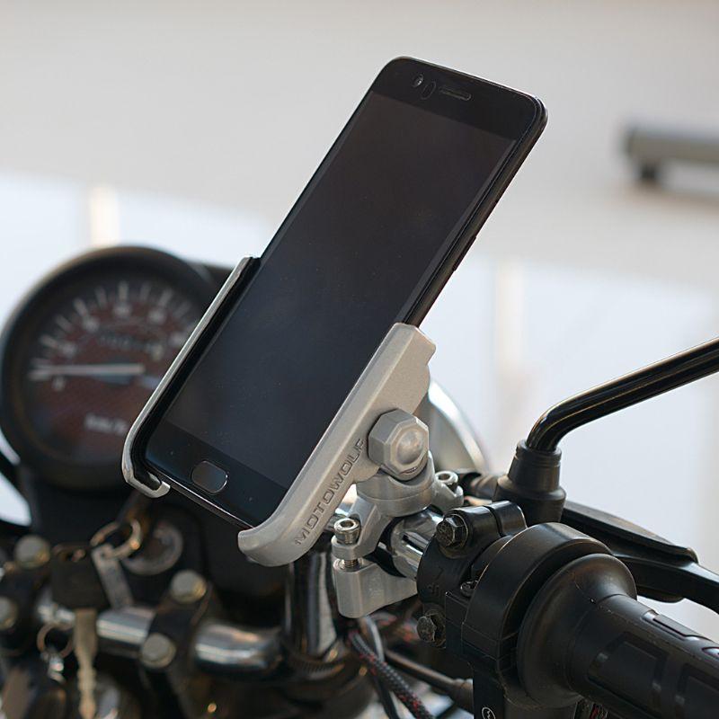 360 360 درجة العالمي دراجة سبائك الألومنيوم دراجة نارية المقود حامل هاتف حامل جبل آيفون شاومي سامسونج