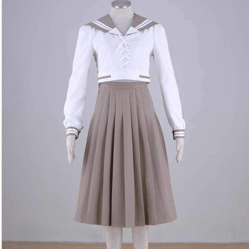 Anime Cosplay Party Costumes Set School Uniform Uniform Cosplay Suit Halloween Performance Clothes Gift недорого
