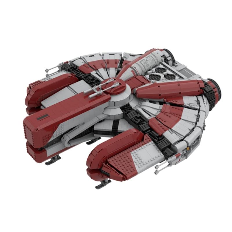 Ebon نموذج الصقر روبوت النقل 30979 باتريلسهيبس الطوب طفل MOC مركبة الفضاء الطوب بناء النسر معركة ستار MK1 الحروب