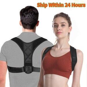 Adjustable Back Brace Support Belt Posture Corrector Clavicle Spine Back Shoulder Lumbar Posture Correction