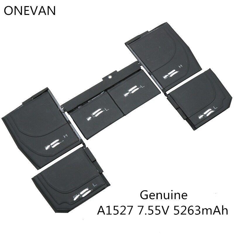 ONEVAN Genuine A1527 New Laptop battery For APPLE MacBook 12