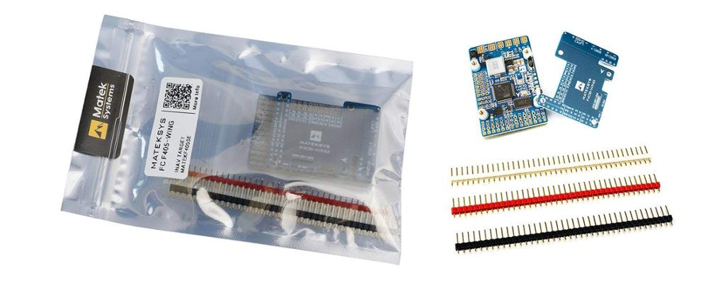 Matek MatekSys F405-WING STM32F405 Flight Controller Control With INAVOSD MPU6000 BMP280 /Support Fly Wing Fixed Wing enlarge