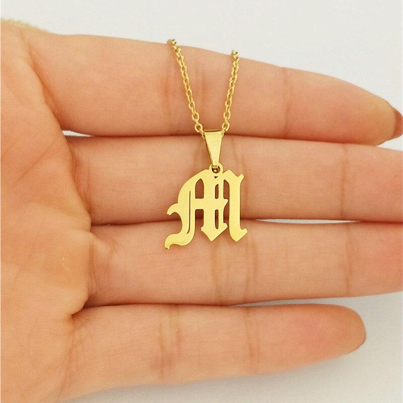 Collar con colgante de joyería Personalizado gótico inglés antiguo, Gargantilla personalizada, collar...