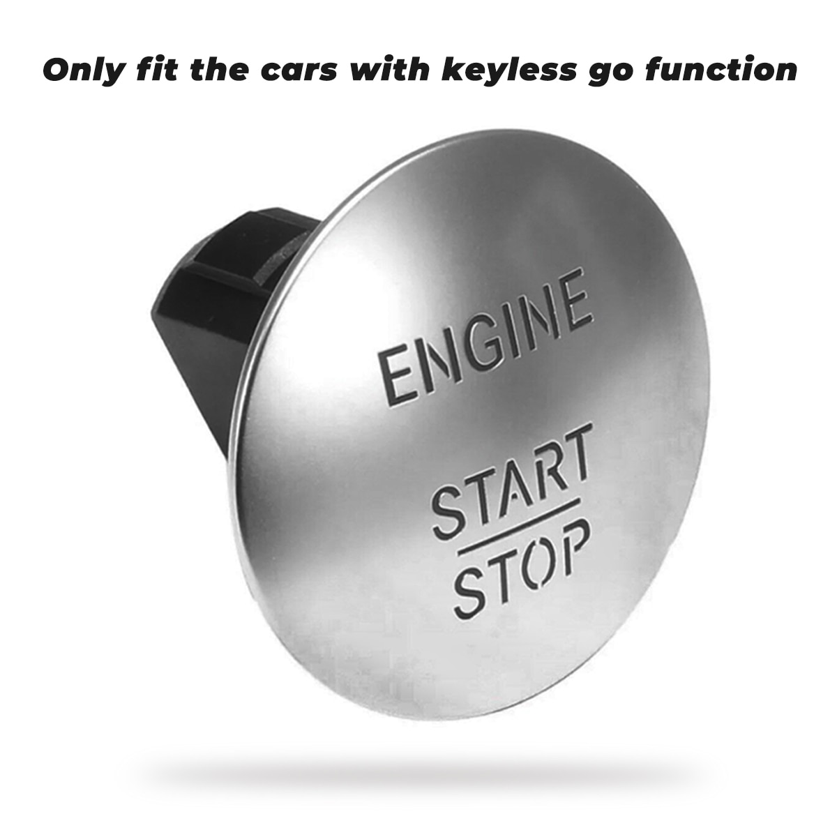 Interruptor de botón de arranque de motor para Mercedes Benz, pulsador de...