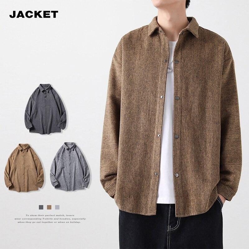 Мужская осенняя куртка HFYF, новинка 2021, модная красивая Молодежная куртка в Корейском стиле, повседневная куртка